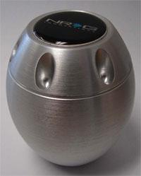 NRG  Type-M Style Shift Knob Universal Silver