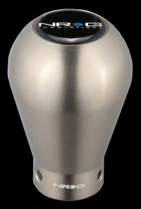 NRG  50mm - 230g Shift knob Titanium Aluminum