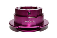 NRG  Quick Release Kit Gen 2.5 - Purple Body/Purple Ring