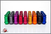 Password:JDM Aluminum Extended Open End 12x1.5mm 16pc Lug Nuts, Purple