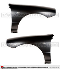 Password:JDM JDM-SPEC FENDERS 1994-2001 Acura Integra DC USDM round headlights