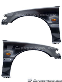 Password:JDM JDM-SPEC FENDERS 1988-1991 Honda Civic EF SiR HB