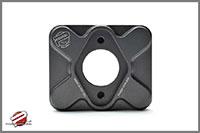 Password:JDM Brake Booster Delete Plate, Black Honda / Acura