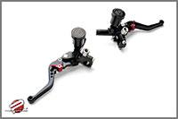 Password:JDM Adjustable Folding Brake Levers for Front and Rear Disk Brakes, Black Honda Ruckus