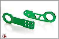 Password:JDM Front and Rear Tow Hooks, Green