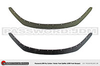 Password:JDM Honda 2006+ S2000 AP2 Front Splitter for OEM bumper carbon/kevlar