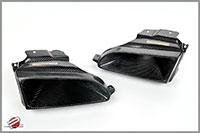 Password:JDM Carbon Fiber Ram Air Scoop 1992-1995 Honda Civic EG, Left side