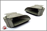 Password:JDM Carbon Kevlar Ram Air Scoop 1992-1995 Honda Civic EG, Left side