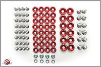 Password:JDM Engine Bay Washer Dress Up Kit, Gunmetal Mitsubishi Evo X