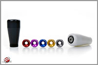 Password:JDM Delrin Black shift knob w/washer kit MITSUBISHI / NISSAN / MAZDA