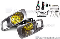 Password:JDM FOGLIGHT KIT 1999-2000 Honda Civic EK AMBER LENS