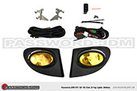Password:JDM FOGLIGHT KIT 2002-2005 Honda Civic Si AMBER LENS