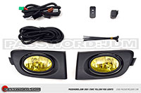 Password:JDM FOGLIGHT KIT 2001-2003 Honda Civic coupe/sedan AMBER LENS