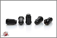 Password:JDM Micro Locking 12x1.25mm 16pc Lug Nuts, Black w/Key