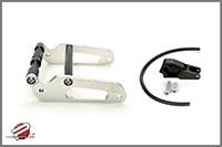 Password:JDM Billet Aluminum Frame Extension Kit, Silver Honda Ruckus