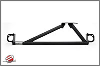 Password:JDM SOLID TOWER BAR 1990-1993 Acura Integra, Black UPPER FRONT 3-POINT