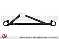 Password:JDM SOLID TOWER BAR 1988-1991 Honda Civic / CRX, Black UPPER FRONT 3-POINT