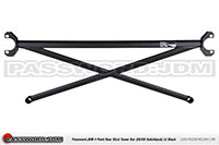 Password:JDM SOLID TOWER BARS 1992-2000 Honda Civic HB (only), Black UPPER REAR 4-POINT