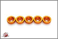 Password:JDM VALVE COVER WASHERS Honda / Acura H-series VTEC, Orange