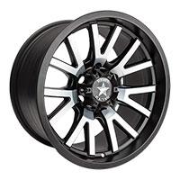 Rebel Racing Sierra Wheel Rim 15x8 5x114.3 ET0 83.06 Matte Black w/Machined Face