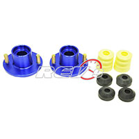 REV9POWER Acura Integra / Honda Civic / Del Sol / CR-X aluminum suspension top hats 2 pcs (blue)