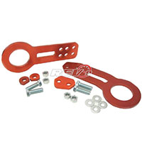REV9POWER Universal Aluminum Cnc Tow Hook Front & Rear Red