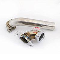 REV9POWER 38mm Wastegate Dump Tube Set