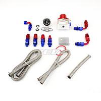 REV9POWER Fuel Pressure Regulator RS-Series with gauge