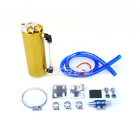 REV9POWER Oil Catch Can Gold