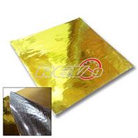"""REV9POWER Gold Heat Reflector Barrier Tape Sheet 20"""" X 20"""""""