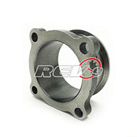"REV9POWER 2.5"" 4 Bolt To 2.5"" V Band Turbo Adaptor (Cast)"