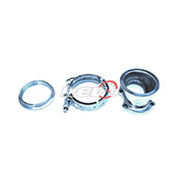"""REV9POWER T25 T28 5 Bolt To 3"""" V Band Adaptor Clamp Set"""