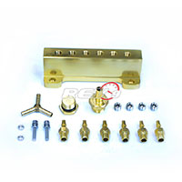 REV9POWER Vacuum Intake Manifold Gold