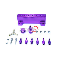 REV9POWER Vacuum Intake Manifold Purple