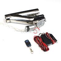 "REV9POWER 3"" Electric Exhaust Cutout W/ Remote V2 (Universal)"