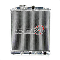 REV9POWER Honda Civic 92-95 96-00 Radiator 3 Row Core