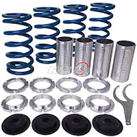REV9POWER Acura ,Honda lowering spring sleeve kit (blue)