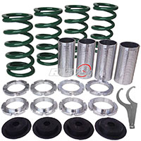 REV9POWER Acura ,Honda lowering spring sleeve kit (green)