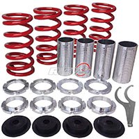 REV9POWER Acura ,Honda lowering spring sleeve kit (red)
