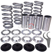 REV9POWER Acura ,Honda lowering spring sleeve kit (silver)