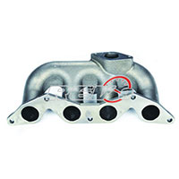 REV9POWER Honda Civic D17 T3 Flange Cast Manifold