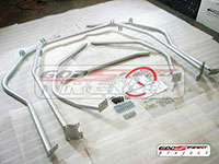 REV9POWER Mitsubishi Evolution EVO8 EVO9 03-07 6 Point Roll Cage