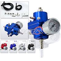 REV9POWER Fuel Pressure Regulator with gauge (blue)