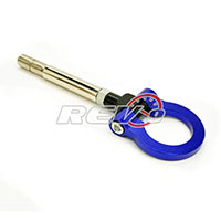 REV9POWER Scion FRS 12+ / Subaru BRZ 12+ Screw On Type Tow Hook (Blue)