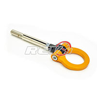 REV9POWER Scion FRS 12+ / Subaru BRZ 12+ Screw On Type Tow Hook (Gold)