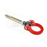REV9POWER Scion FRS 12+ / Subaru BRZ 12+ Screw On Type Tow Hook (Red)