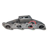 REV9POWER Nissan S13 S14 240SX KA24DE T3 / T4 Flange Cast Manifold