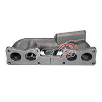 REV9POWER Nissan S13 240SX KA24E (Single Cam) Top Mount T3 Cast Manifold