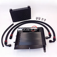 REV9POWER BMW 335 E90 E92 Upgrade 25 Row Oil Cooler Kit
