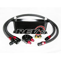 REV9POWER Universal 10 Row Oil Cooler Kit